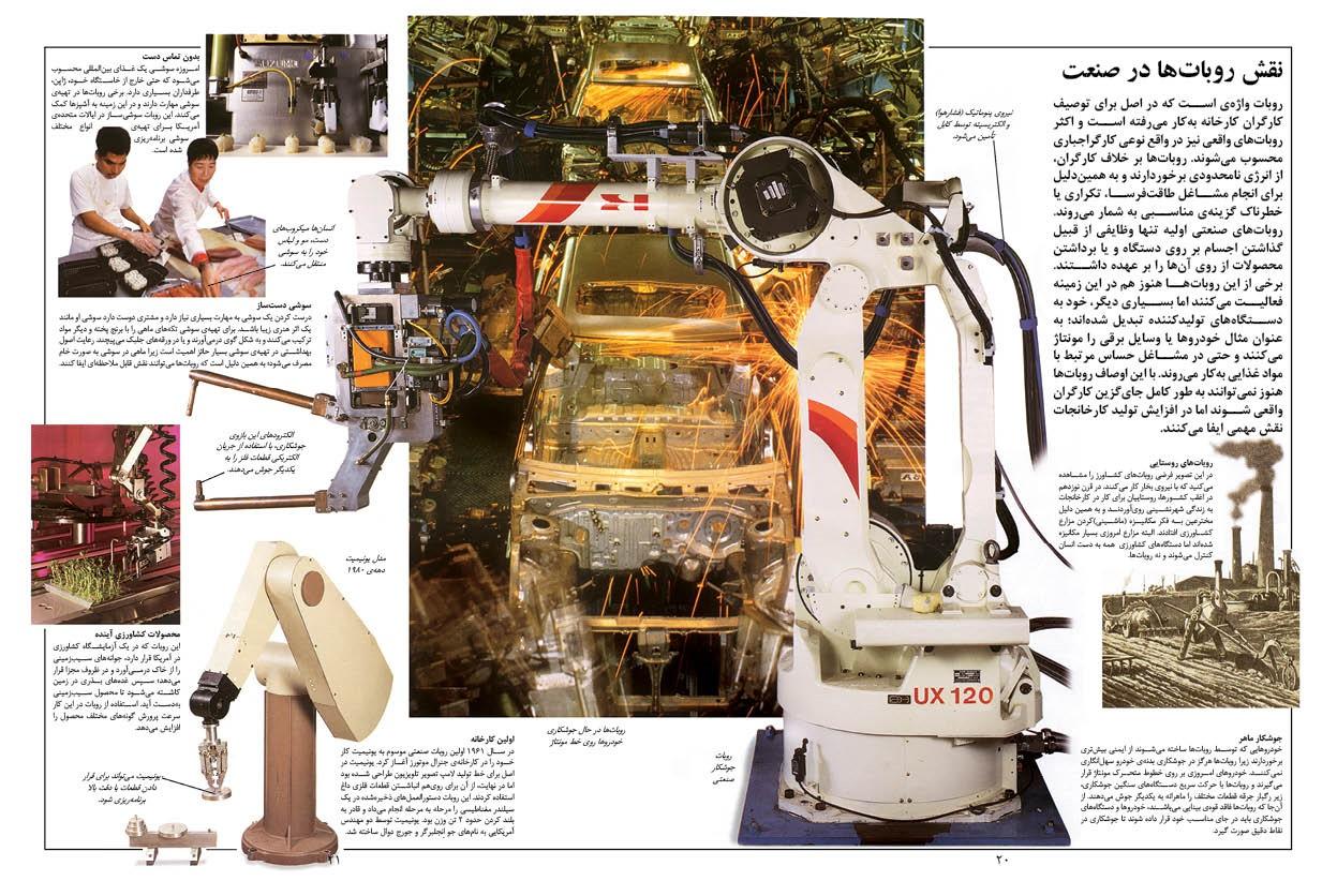 دنیای ربات ها - انتشارات پیام بهاران